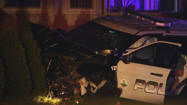 Woman, 20, killed in collision with Somerset police cruiser