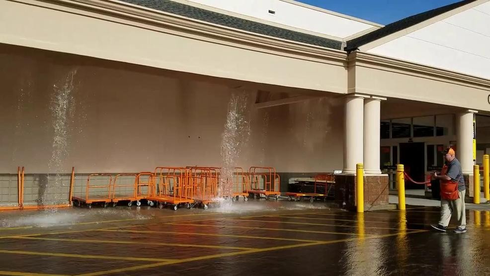 Frozen pipe catalyst for burst at North Kingstown Home Depot