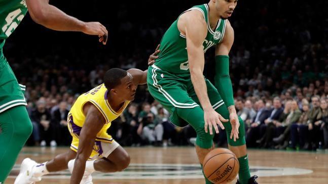 Rondo s jumper at buzzer lifts Lakers over Celtics 129-128  f5afe27d3