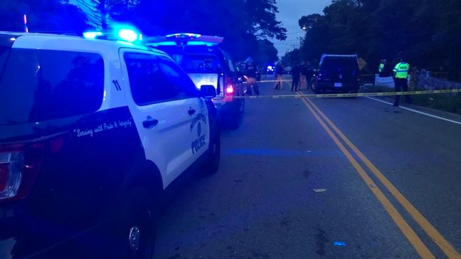 Two officers injured in Falmouth shooting