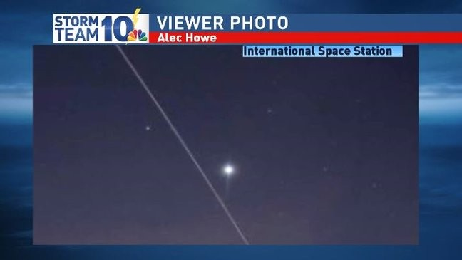 That's not a shooting star     that's the Space Station! | WJAR