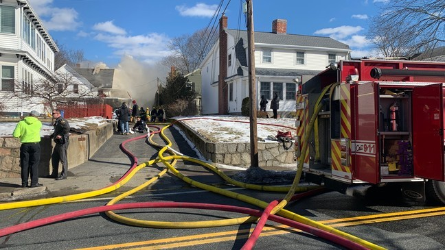 Police rescue woman, baby from Cumberland house fire | WJAR