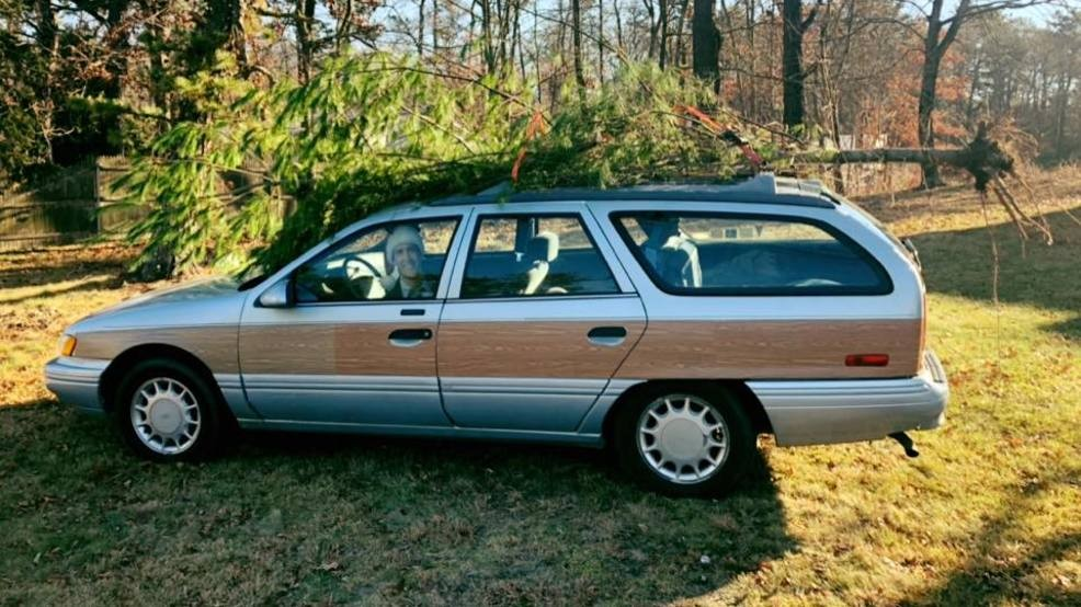 Christmas Vacation Car.Hilarious Christmas Vacation Scene Recreated In