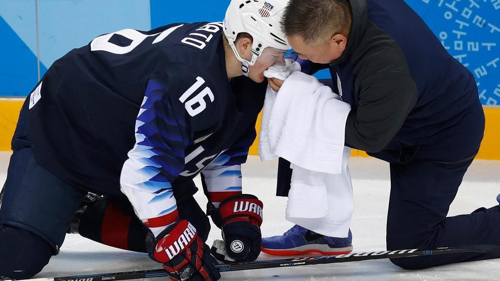 39c2a911f Bruins sign US Olympic star Ryan Donato to entry-level deal
