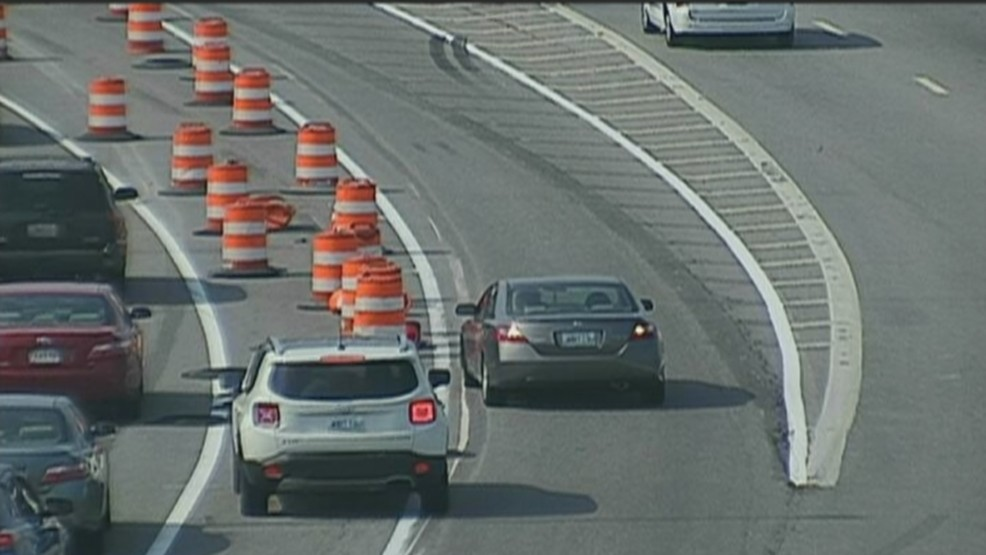 Officials: New I-95 north traffic pattern planned in