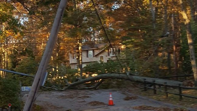 National Grid Hopes To Have Power Restored To Most In Ri Today Wjar