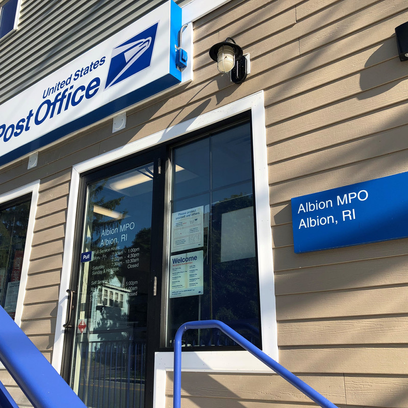 New Albion Post Office Opens After 3 Year Wait Wjar