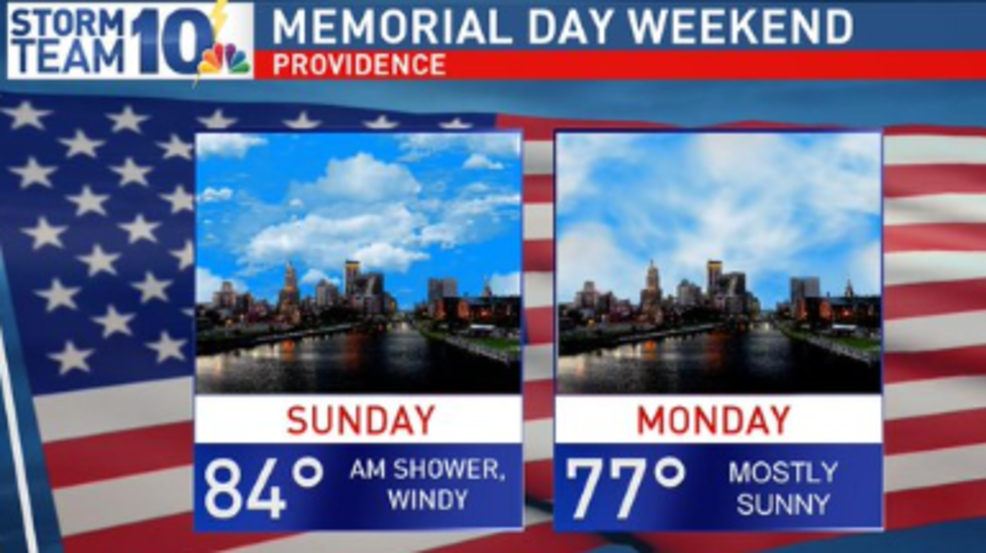 Tracking a dry, warm Memorial Day | WJAR