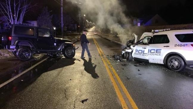Woman faces DUI charge in North Providence police cruiser