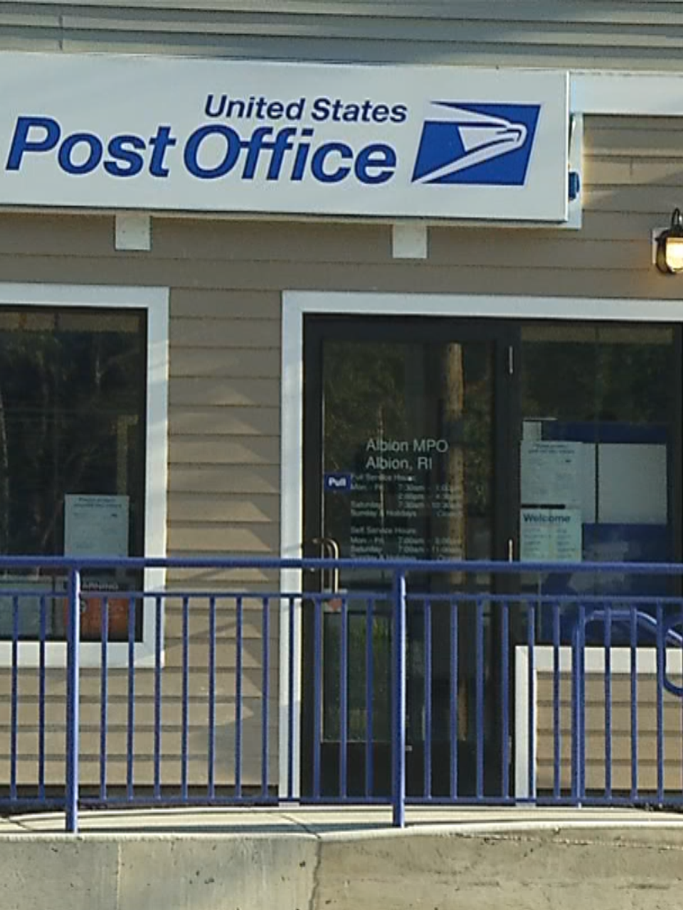 After Years Of Frustration Albion Residents Get A Post Office Wjar