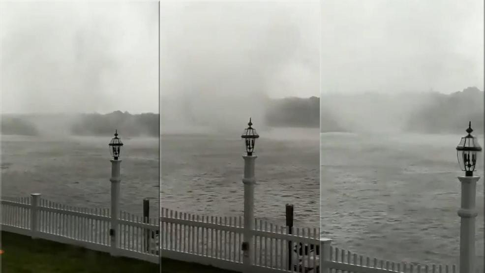 Video: Waterspout spotted in South Yarmouth | WJAR