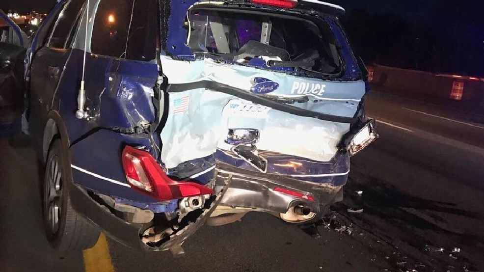 State police: Suspected drunken driver crashes into