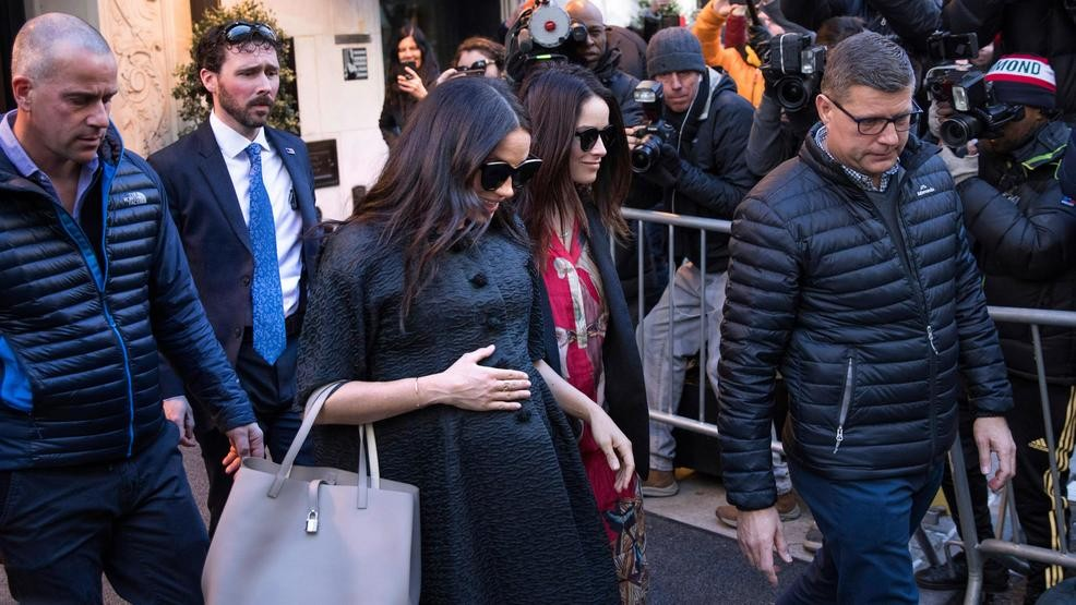 Meghan Markle Spotted In New York For Rumored Baby Shower Wjar