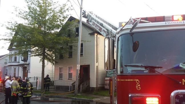 Remarkable Three People Displaced In New Bedford House Fire Wjar Home Interior And Landscaping Ponolsignezvosmurscom